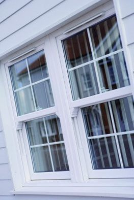 Double glazed vertical sliding sash windows