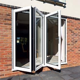 Bi-folding doors can be tailor made to fit almost any home