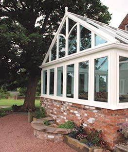 The Gable conservatory adds a real sense of presence to any home - even older, period properties