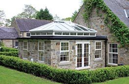For those wanting a little more than a conservatory, the orangery is the ideal solution